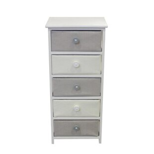 Callensburg Wooden 5 Drawer Ch..