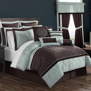 16 Piece Comforter Set by Ellison First Asia Amazing