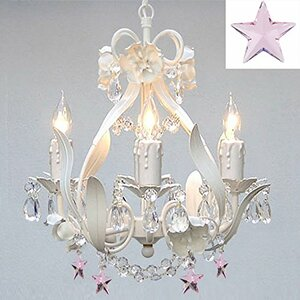 Barrie Floral 4-Light Crystal Chandelier