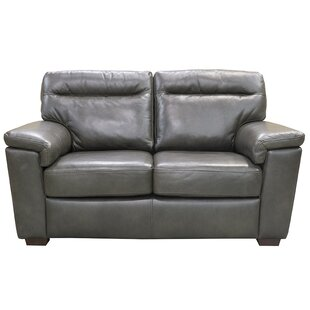 Kostya Leather Loveseat
