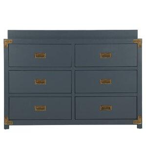 Agostino 6 Drawer Double Dresser by Viv + Rae