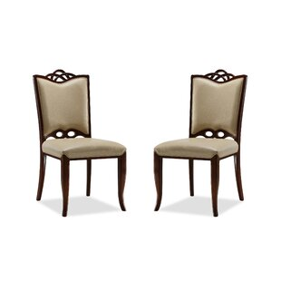 Find for Baystone Cosmopolitan Side Chair (Set of 2) by Darby Home Co Reviews (2019) & Buyer's Guide