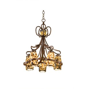 Kalco Monaco 5-Light Shaded Chandelier