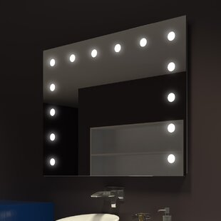 Best Tarek Illuminated Wall Bathroom/Vanity Mirror By Everly Quinn