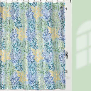 Otha Reef Shower Curtain by Highland Dunes Discount