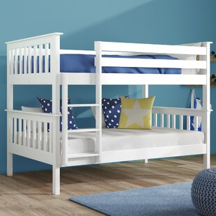 Double Bunk Bed With Desk Wayfair Co Uk