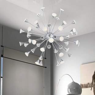 Eurofase Esplo 48-Light LED Sputnik Chandelier