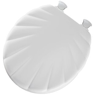 Mayfair Shell Wood Round Toilet Seat