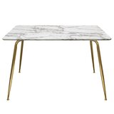 Chance Rectangular Dining Table by Diamond Sofa
