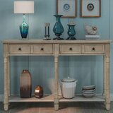 Bentdahl 58'' Solid Wood Console Table by Red Barrel Studio®