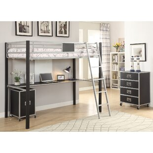 Best Reviews Curtsinger Highly Purposeful Twin Loft Bed by Harriet Bee Reviews (2019) & Buyer's Guide