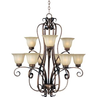Fleur De Lis Living Windle 9-Light Shaded Chandelier