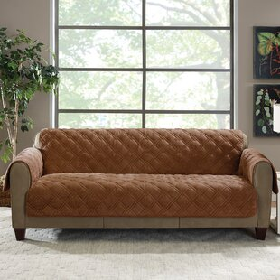 Plush Comfort Sofa Slipcov..