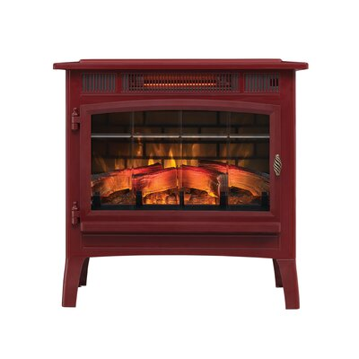3D Flame Effect Infrared Quartz Electric Stove Duraflame Electric Finish: Cinnamon