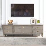 Hultgren Solid Wood TV Stand for TVs up to 65 by Rosdorf Park