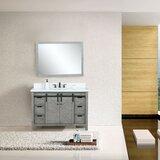 Schmidt 48 Single Bathroom Vanity Set with Mirror by Gracie Oaks