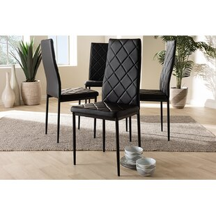 Cranbrook Upholstered Dining Chair (Set of 4) by Orren Ellis