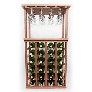 24 Bottle Floor Wine Rack by Wineracks.com