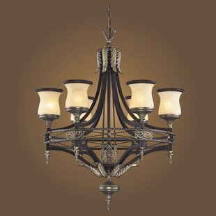 Barraclough 6-Light Shaded Chandelier by Astoria Grand