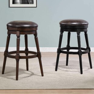 Almanzar 30 Swivel Bar Stool by Charlton Home