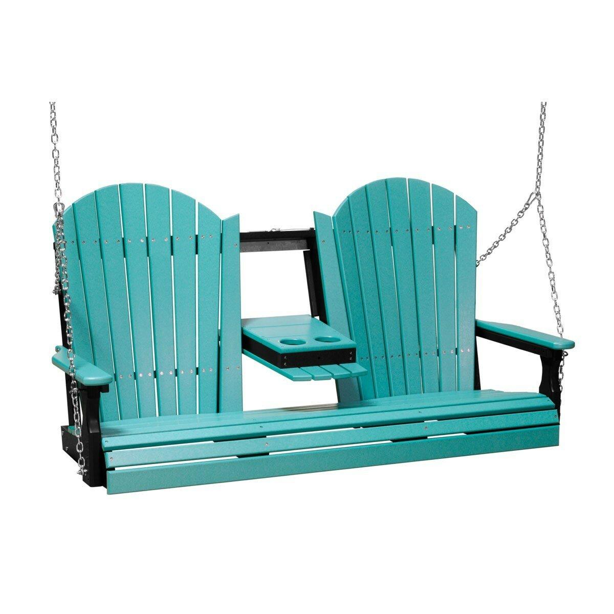 Ebern Designs Rosalin Adirondack Porch Swing Wayfair