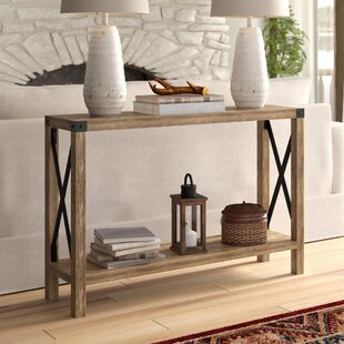 Console Table With Power Wayfair