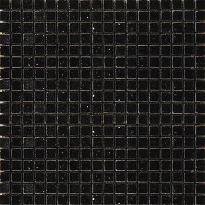 0625 x 0625 Granite Mosaic Tile in Black Galaxy Epoch