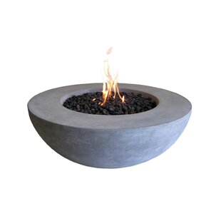 Ätna Concrete Propane Fire Pit Table By Elementi
