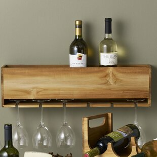 Takara 6 Bottle Wall Mounted Wine Rack by..