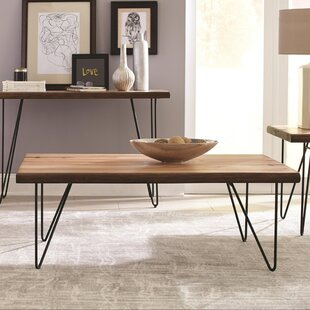 Penitas Solid Wooden Contemporary Coffee Table by Ivy Bronx
