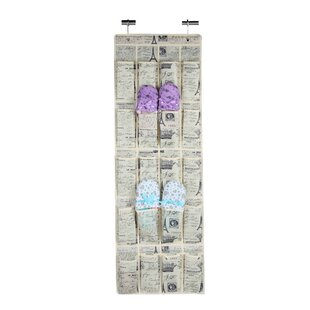 Check Prices Paris 20 Pair Overdoor Shoe Organizer By Home Basics