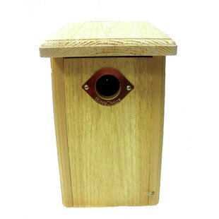 Birds Choice Cedar Nest Roosting Box 13 in x 8 in x 7 in Bluebird House