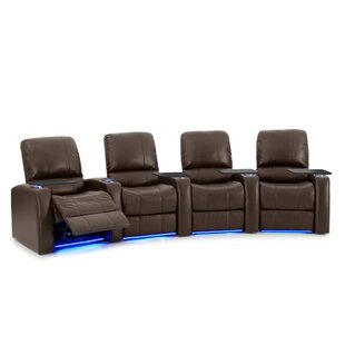 Home Theater Recliner (Row of 4) by Latitude Run