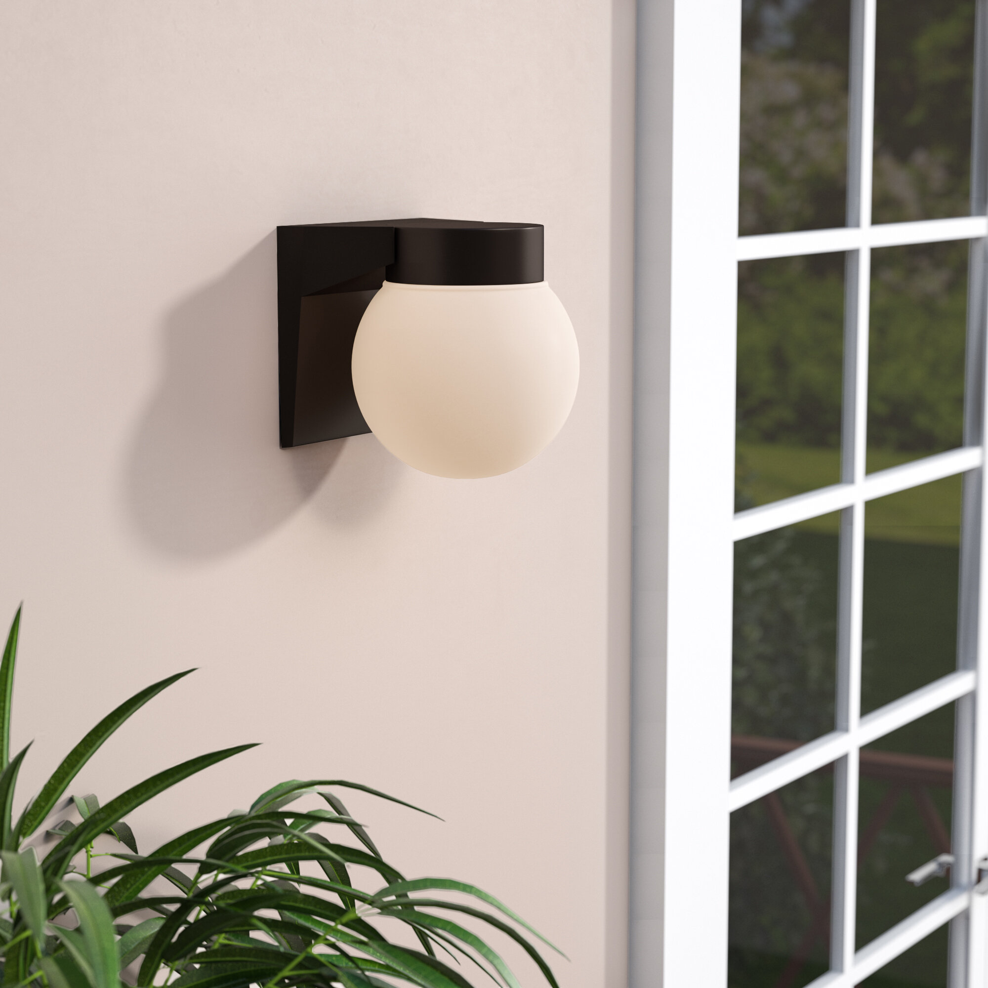 Sol 72 Outdoor Imboden Outdoor Sconce Reviews Wayfair