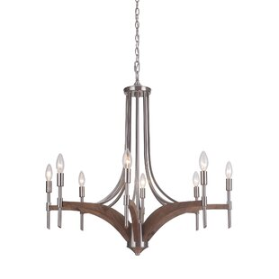 Gracie Oaks Polen 8-Light Chandelier