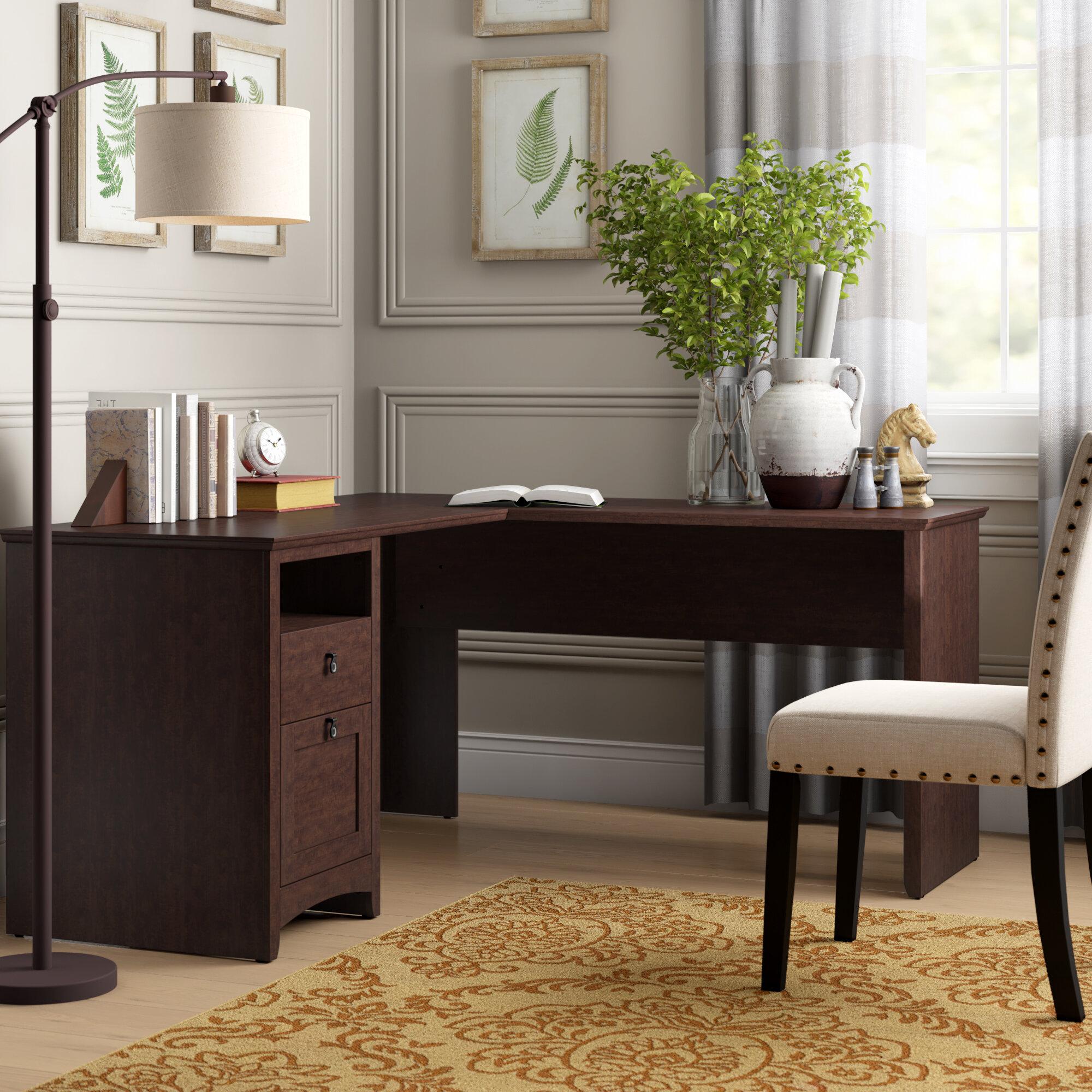 Perth L Shape Executive Desk Reviews Birch Lane