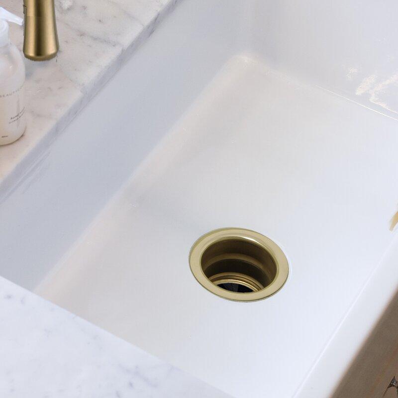 nantucket 35 extended disposal flange kitchen sink drain - Sink Flange