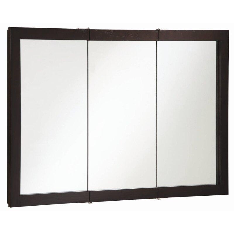 Searle 48 X 30 Surface Mount Framed Medicine Cabinet Reviews Allmodern