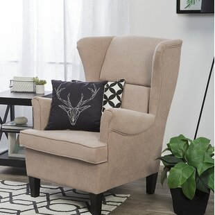 Find for Duwayne Wingback Chair by Darby Home Co Reviews (2019) & Buyer's Guide