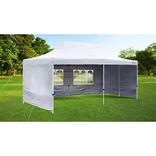 20 Ft. W x 10 Ft. D Steel Party Tent by GigaTent