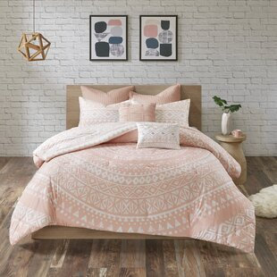 Mistana Azemmour 7 Piece 100% Cotton Reversible Comforter Set