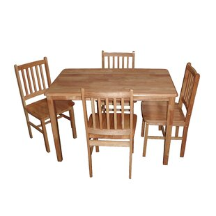Callaway Dining Set With 4 Chairs By Alpen Home