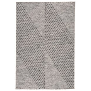 Cyrene Jaipur Living Gray/Black Indoor/Outdoor Area Rug
