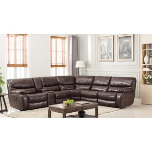 Red Barrel Studio Trower Upholstered Power Reclining Sectional