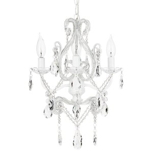 Alida 4-Light Adjustable Crystal Chandelier