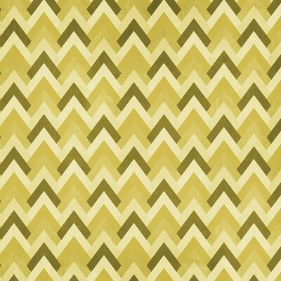 Coordonne Triangle Wallpaper Roll Colour: Yellow