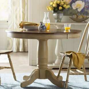 Clyde Solid Wood Dining Table by Alcott Hill Read Reviews