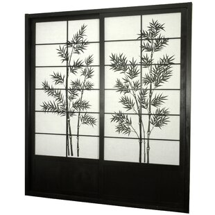 World Menagerie Lynn Shoji 2 Panel Room Divider