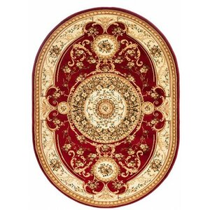 copal red area rug