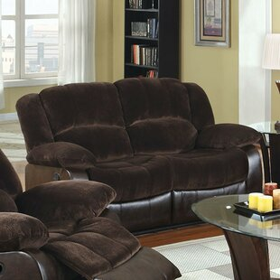 Sirabella Alluring Transitional Style Comfy Reclining Loveseat by Red Barrel Studio